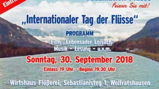 Internationaler Tag der Flüsse 2018